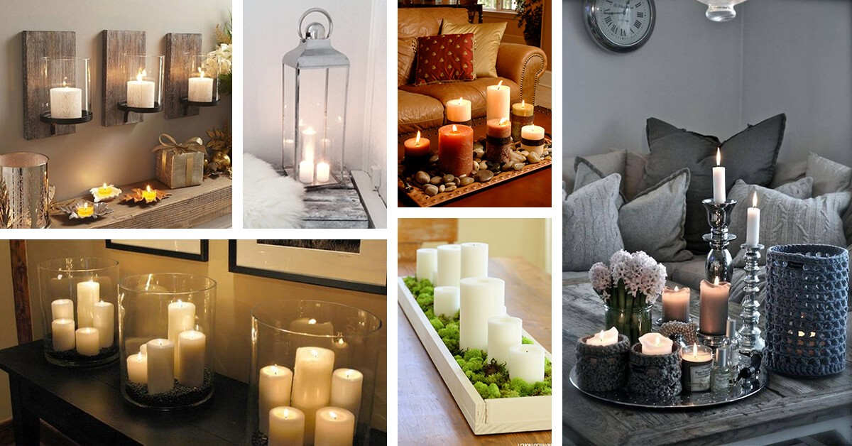 Decorating Home with Candles