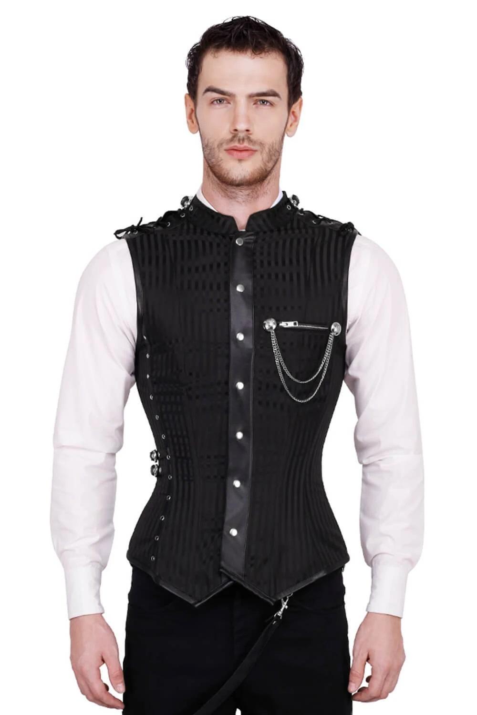 Men's corset – the return of the fashion statement