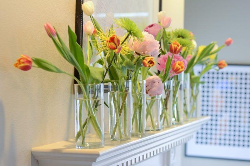 Fresh Flower Arrangement Ideas For Home Decoration